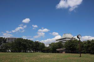 大島小松川公園の外観