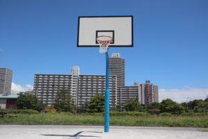 大島小松川公園のバスケットコート