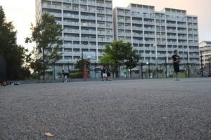打瀬3丁目公園バスケコート
