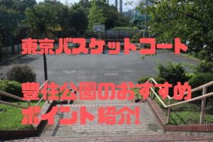 東京江東区のバスケットコート【豊住公園】