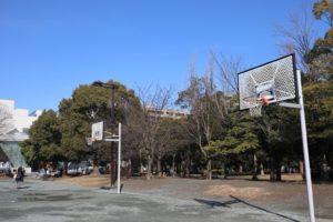 木場公園バスケットゴール