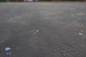 バスケットコートの地面の特徴